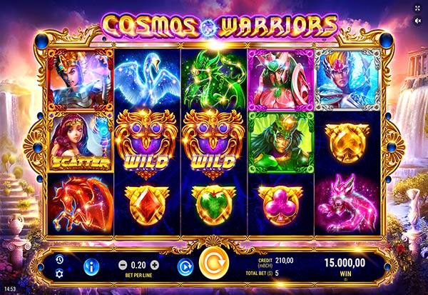 Cosmos Warriors 777 Slots Bay game