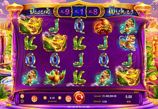 Desert Wishes 777 Slots Bay game