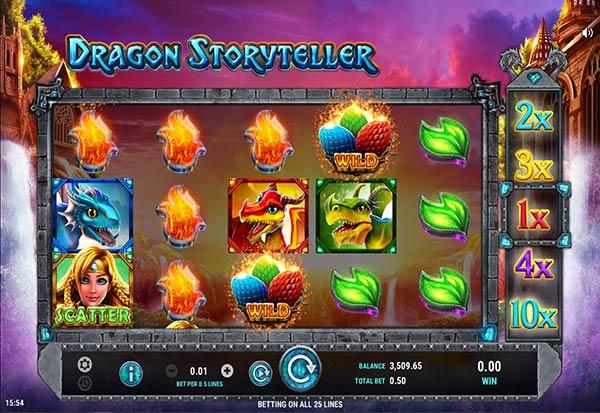 Dragon Storyteller 777 Slots Bay game