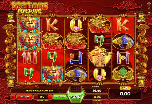 Dragons Fortune 777 Slots Bay game