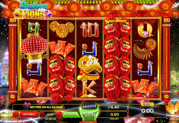 Eastern Lions 777 Slots Bay game