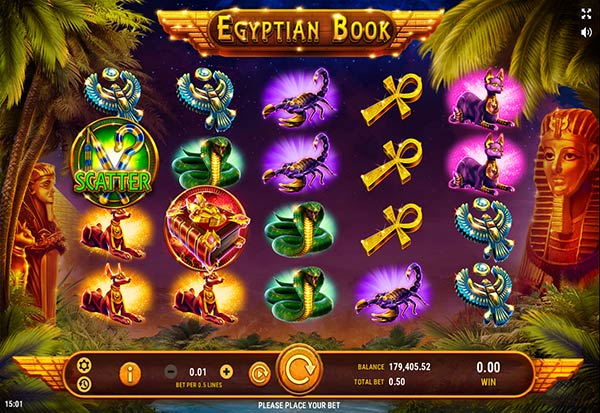 Egyptian Book 777 Slots Bay game
