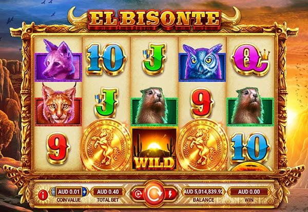 El Bisonte 777 Slots Bay game