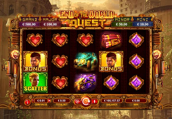 End of the World Quest 777 Slots Bay game