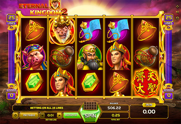 Eternal Kingdom 2 777 Slots Bay game
