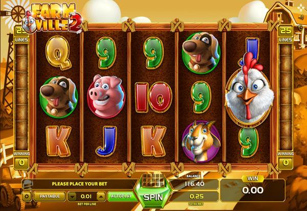 Farm Ville 2 777 Slots Bay game
