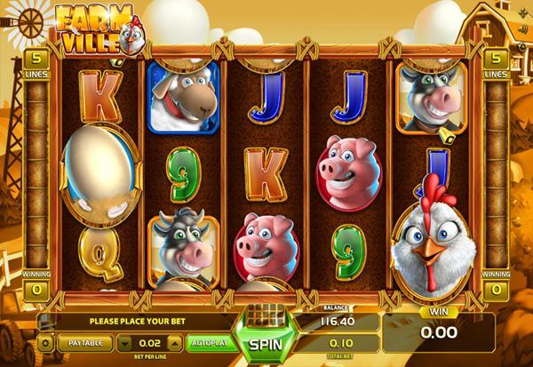 Farm Ville 777 Slots Bay game