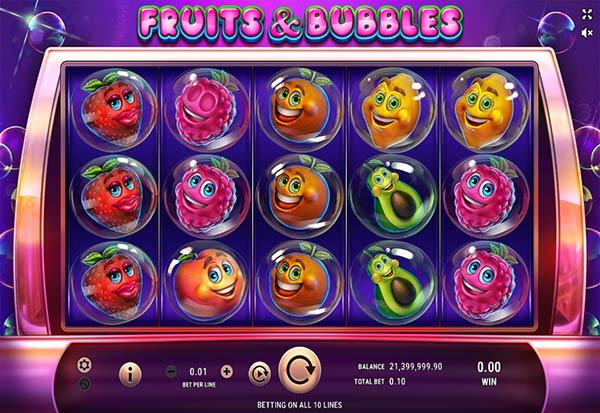 Fruits & Bubbles 777 Slots Bay game