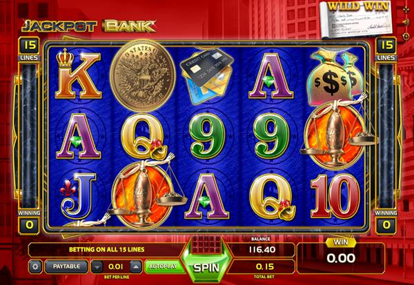 Jackpot Bank 777 Slots Bay game