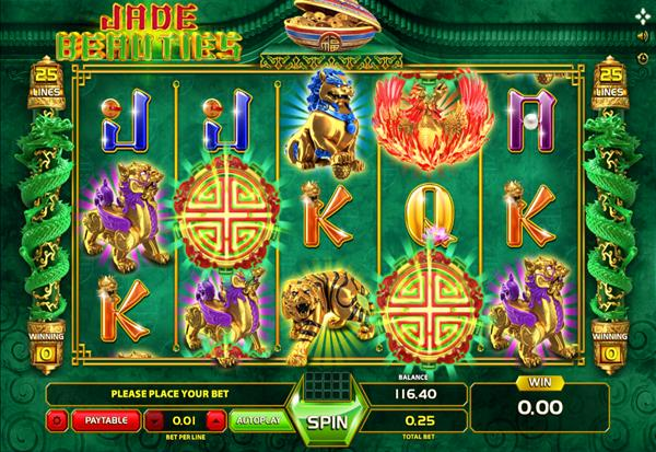 Jade Beauties 777 Slots Bay game