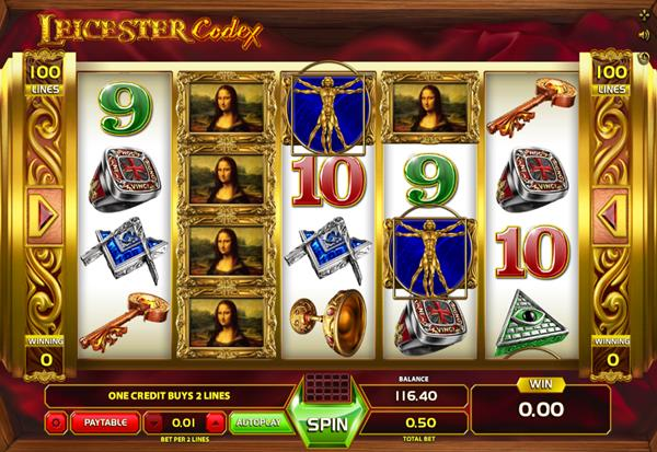 Leicester Codex 777 Slots Bay game
