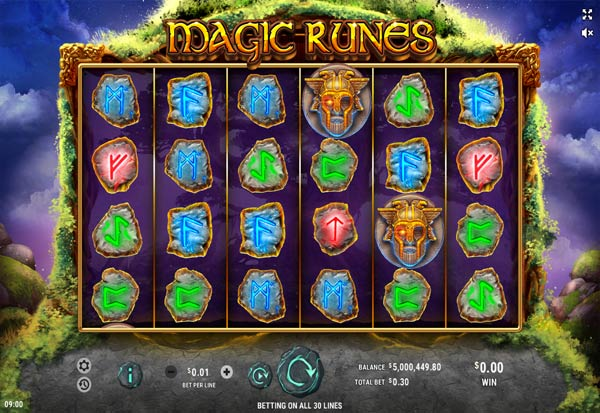 Magic Runes 777 Slots Bay game
