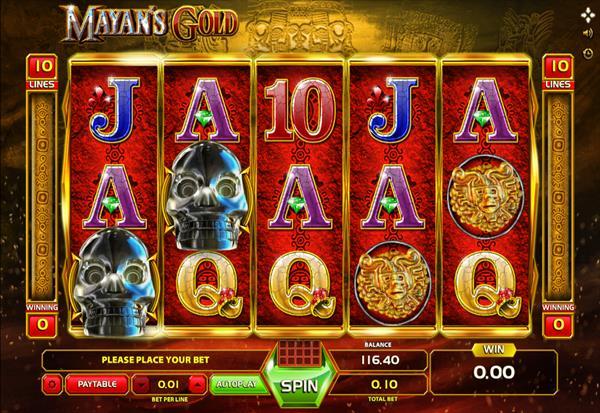 Mayan's Gold 777 Slots Bay game