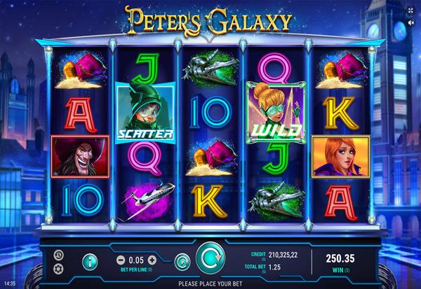 Peters Galaxy 777 Slots Bay game