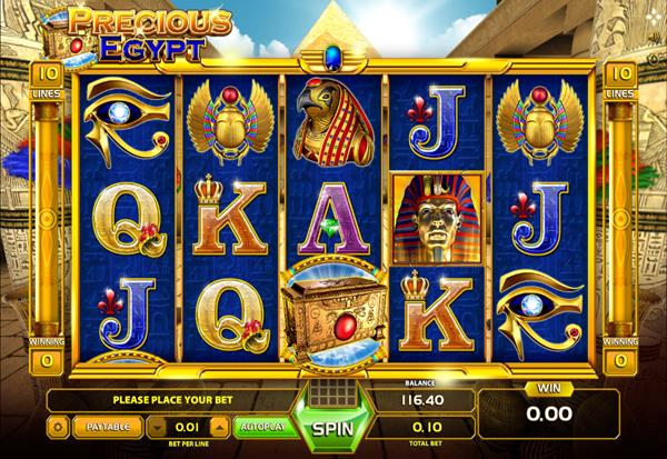 Precious Egypt 777 Slots Bay game