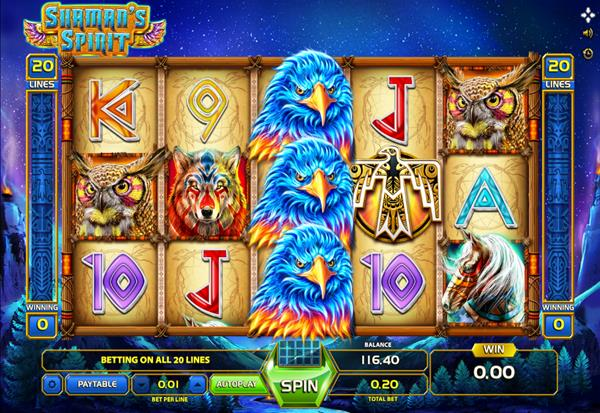 Shaman's Spirit 777 Slots Bay game