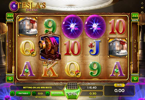 Teslas Dream 777 Slots Bay game
