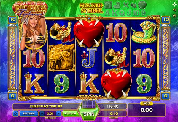 Tiger's Fortune 777 Slots Bay game