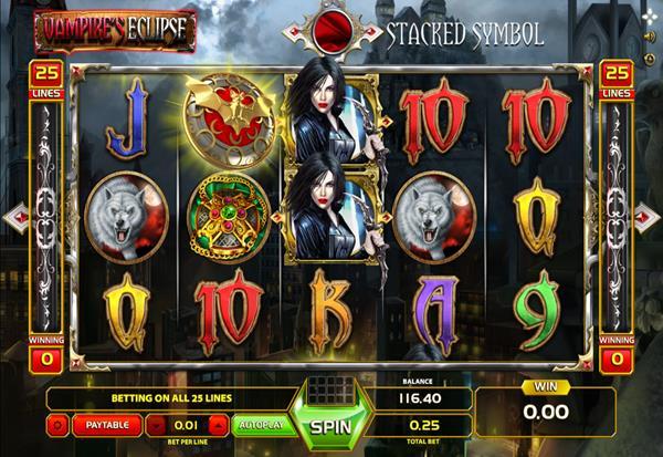 Vampire's Eclipse 777 Slots Bay game