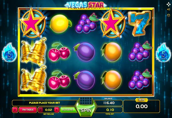 Vegas Star 777 Slots Bay game