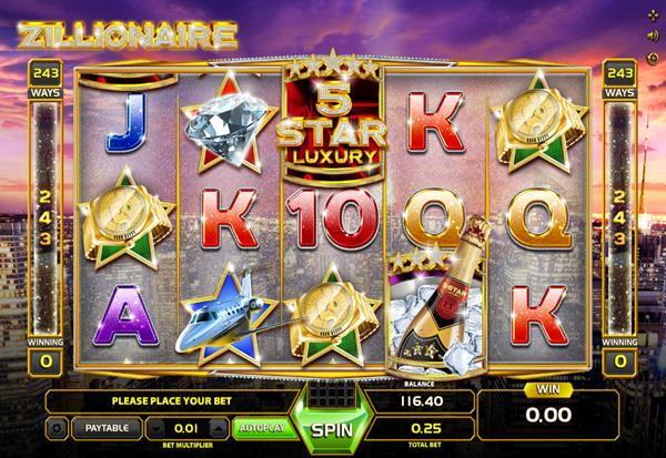 Zilionaire 777 Slots Bay game