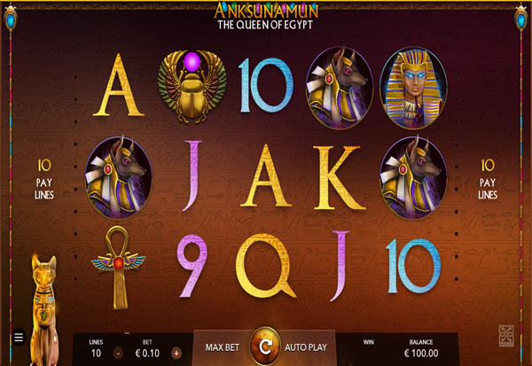 Anksunamun: the Queen of Egypt 777 Slots Bay game