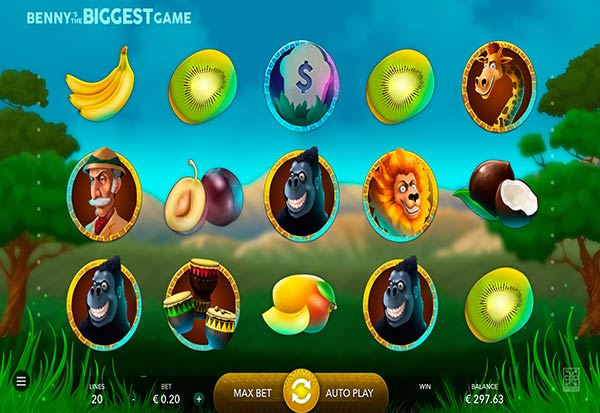 Benny's the Biggest Game 777 Slots Bay game