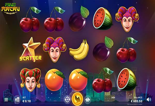 Fruit Macau 777 Slots Bay game