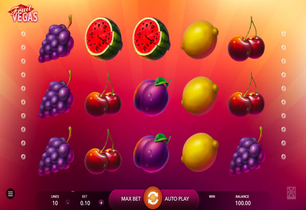 Fruit Vegas 777 Slots Bay game