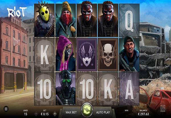 Riot 777 Slots Bay game