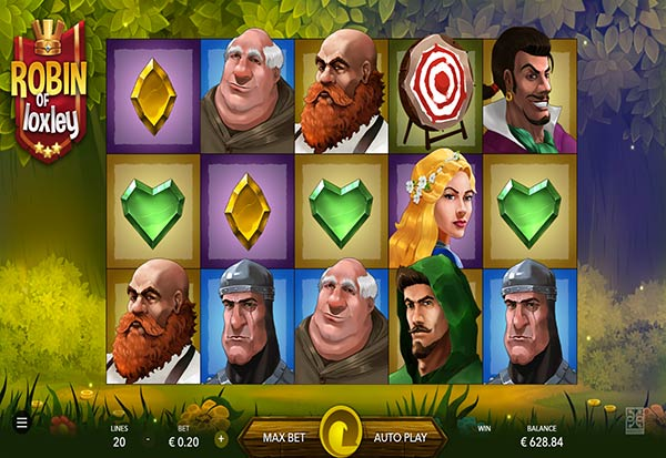 Robin of Loxley 777 Slots Bay game