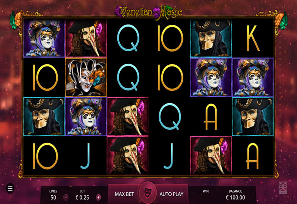 Venetian Magic 777 Slots Bay game