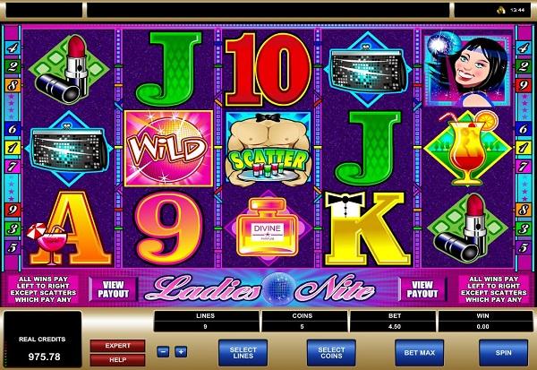 Ladies Nite 777 Slots Bay game