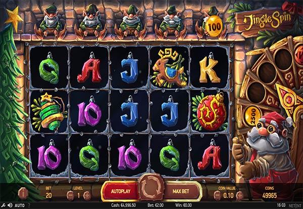 Jingle Spin 777 Slots Bay game
