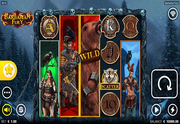 Barbarian Fury 777 Slots Bay game