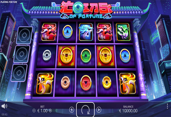 Coins Of Fortune 777 Slots Bay game