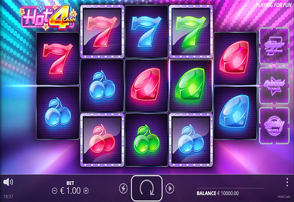 Hot 4 Cash 777 Slots Bay game