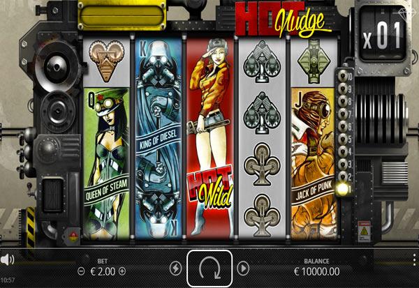 Hot Nudge 777 Slots Bay game