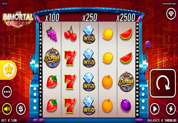 Immortal Fruits 777 Slots Bay game