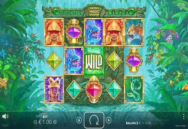 Mayan Magic Wildfire 777 Slots Bay game