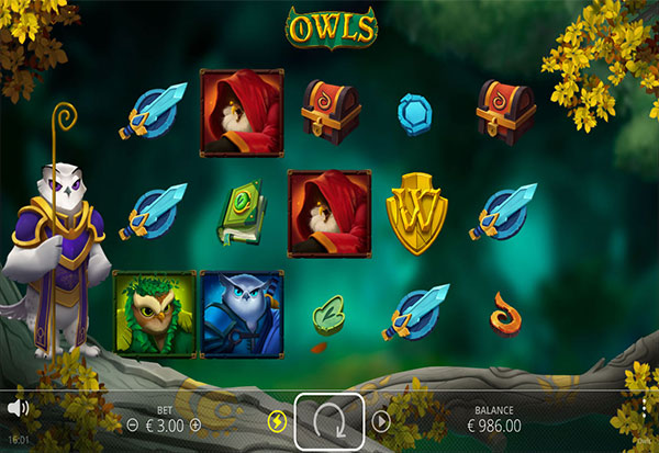 Owls 777 Slots Bay game