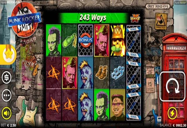 Punk Rocker 777 Slots Bay game