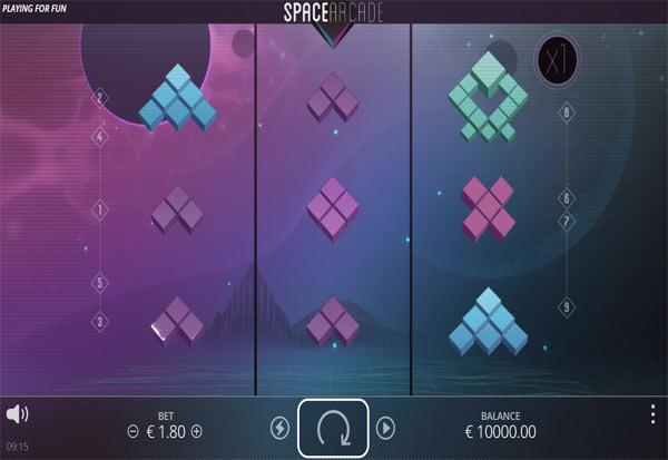 Space Arcade 777 Slots Bay game