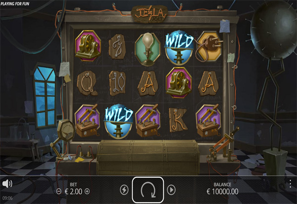 Tesla Jolt 777 Slots Bay game
