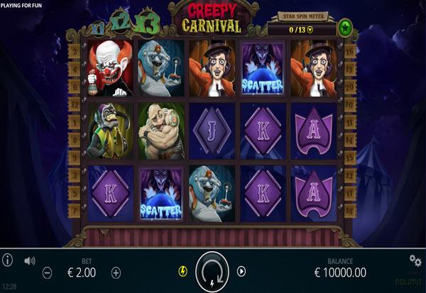 The Creepy Carnival 777 Slots Bay game