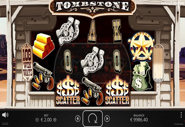 Tombstone 777 Slots Bay game