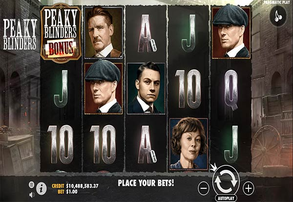 Peaky Blinders 777 Slots Bay game