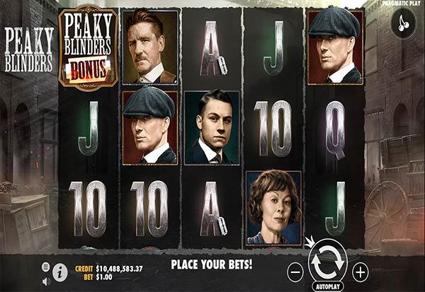 Peaky Blinders 777 Slots Bay game