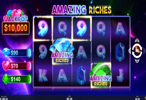 Amazing Riches 777 Slots Bay game