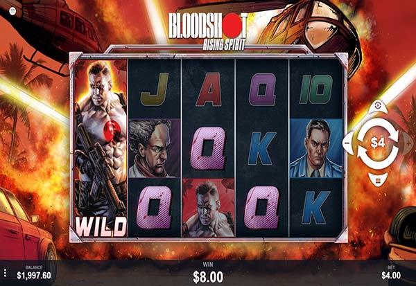 Bloodshot Rising Spirit 777 Slots Bay game